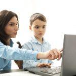 Padres, hijos, Internet
