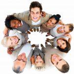 liderazgo, gente, felicidad, sonrisas