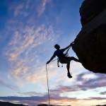 escalador, alpinismo, montañismo