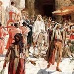 Jesús entró a Jerusalén coronado de gloria como Rey