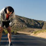 atleta, comienzo, cansancio