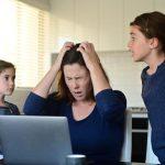 Con ayuda de Dios podemos resolver los conflictos familiares.